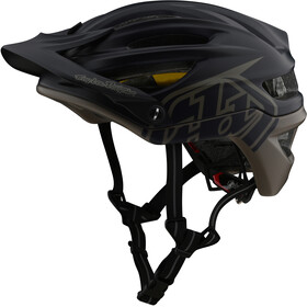 Troy Lee Designs A2 MIPS casco per bici, decoy navy/walnut